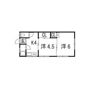 矢沢松川コーポ タイプB